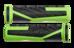 Cube Performance Cykelhåndtag grøn/sort